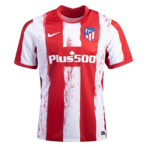 Atletico Madrid Home Football Shirt 21 22