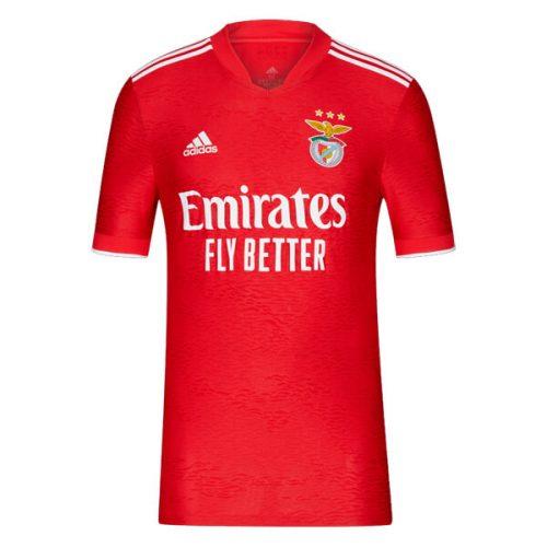 Benfica Home Football Shirt 21 22