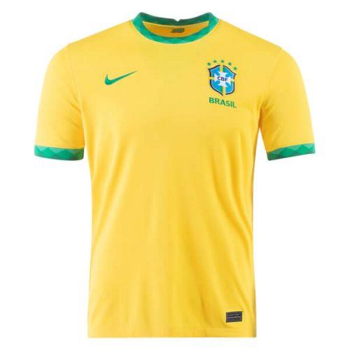 Brazil Home Football Shirt 2021