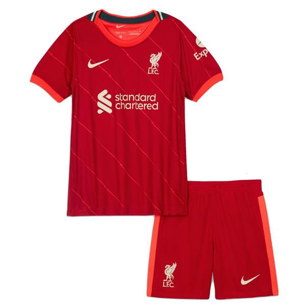 Liverpool Home Kids Football Kids 2122