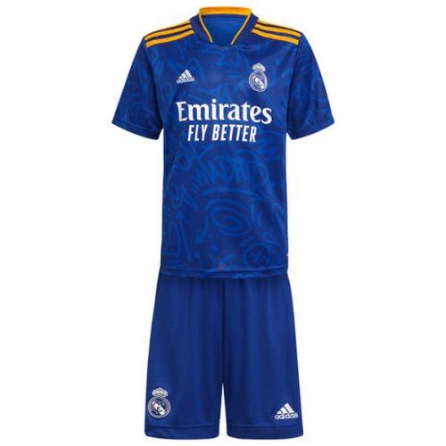 Real Madrid Away Kids Football Kit 21 22