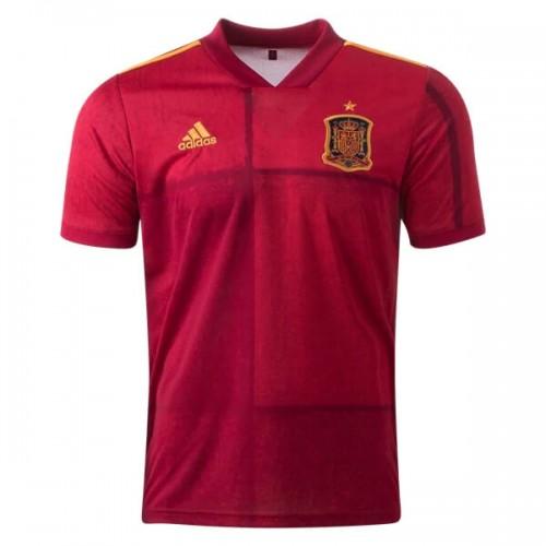 Spain Home Euro 2020 Football Shirt