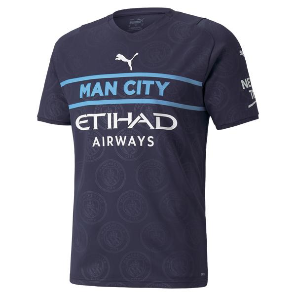 Manchester City Third Football Shirt 21 22
