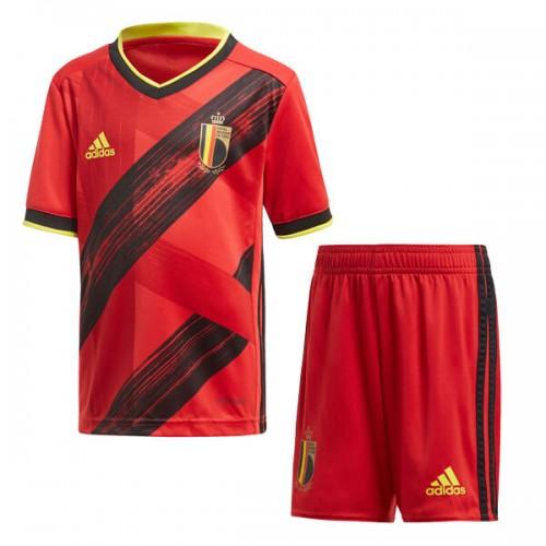 Belgium Home Euro 2020 Kids Football Kit