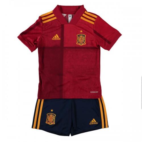 Spain Home Euro 2020 Kids Football Kit