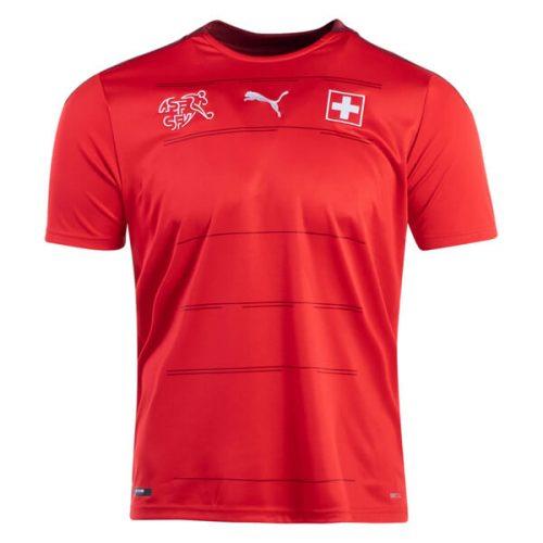 Switzerland Home Football Shirt 2021