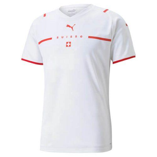 Switzerland Away Football Shirt 21 22