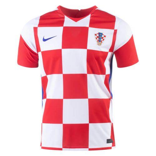 Croatia Home Football Shirt 20 21