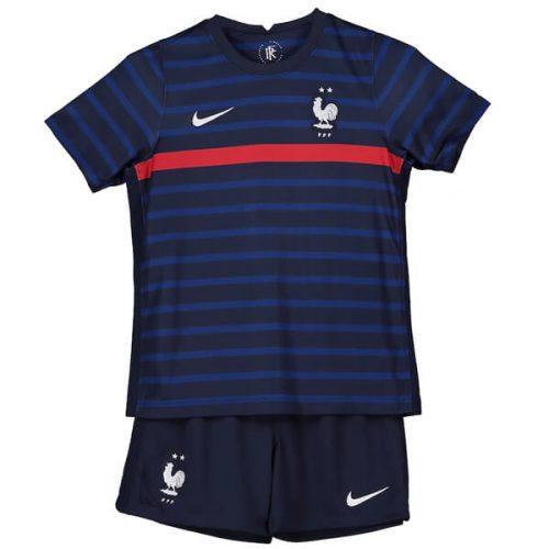 France Home Kids Football Kit 2021