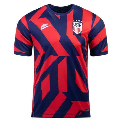 USA Away Soccer Jersey 2122