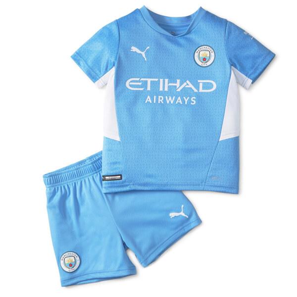 Manchester City Home Kids Football Kit 21 22 Soccerdragon