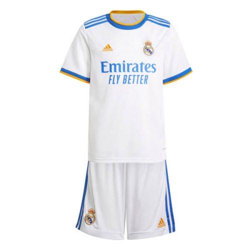 Real Madrid Home Kids Football Kit 21 22
