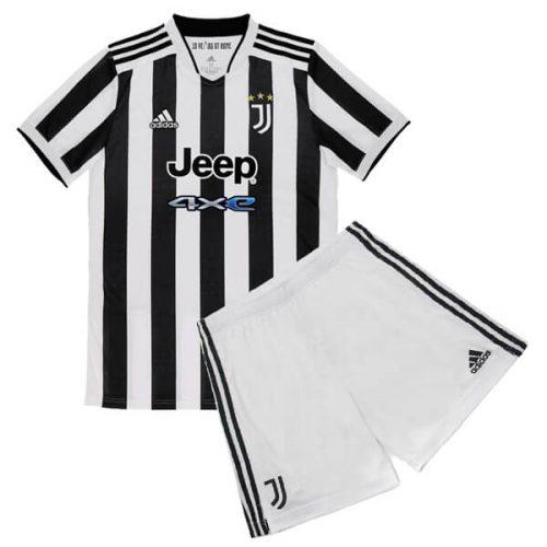 Juventus Home Kids Football Kit 21 22