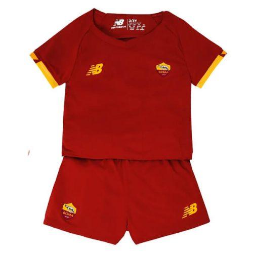 AS Roma Home Kids Football Kit 21 22