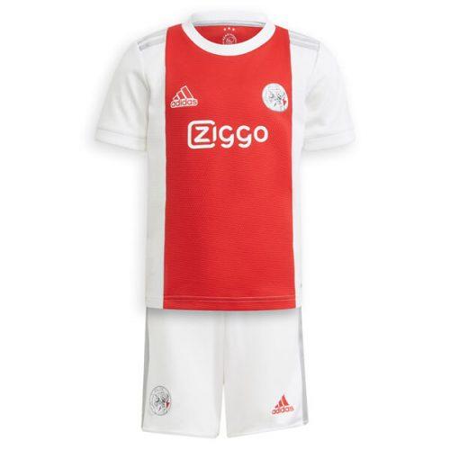 Ajax Home Kids Football Kit 21 22