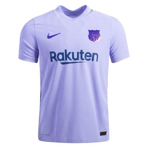 Barcelona Away Player Version Football Shirt 21 22