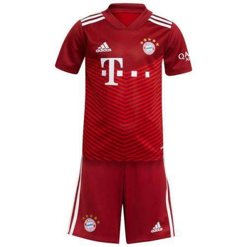 Bayern Munich Home Kids Football Kit 2122