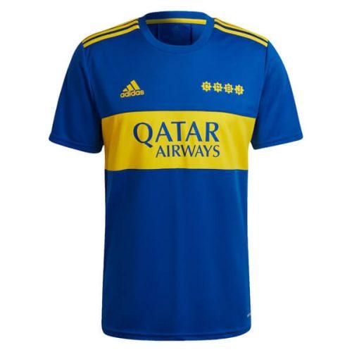Boca Juniors Home Soccer Jersey 2122