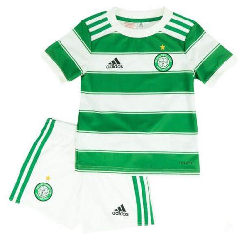 Celtic Home Kids Football Kit 21 22