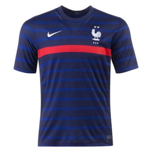 France Home Football Shirt 20 21