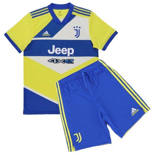 Juventus Third Kids Football Kit 21 22