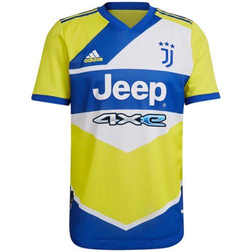 Juventus Third Player Version Football Shirt 21 22