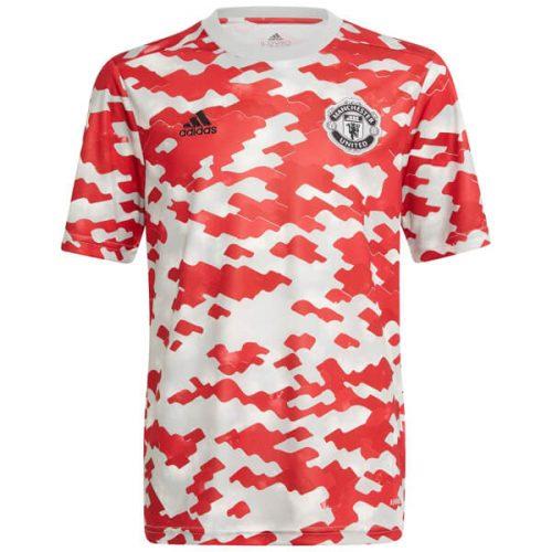 Manchester United Pre Match Training Football Shirt