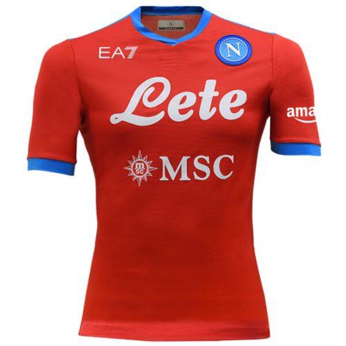 Napoli Third Football Shirt 21 22