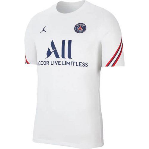 PSG Pre Match Training Football Shirt - White
