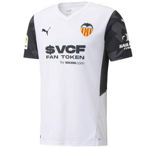 Valencia Home Football Shirt 21 22