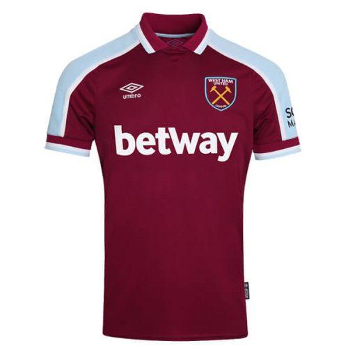 West Ham Home Football Shirt 21 22
