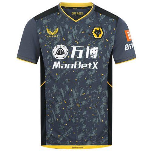 Wolverhampton Wanderers Away Football Shirt 21 22