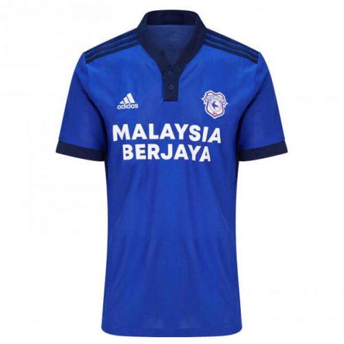 Cardiff City Home Football Shirt 21 22
