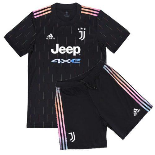 Juventus Away Kids Football Kit 21 22