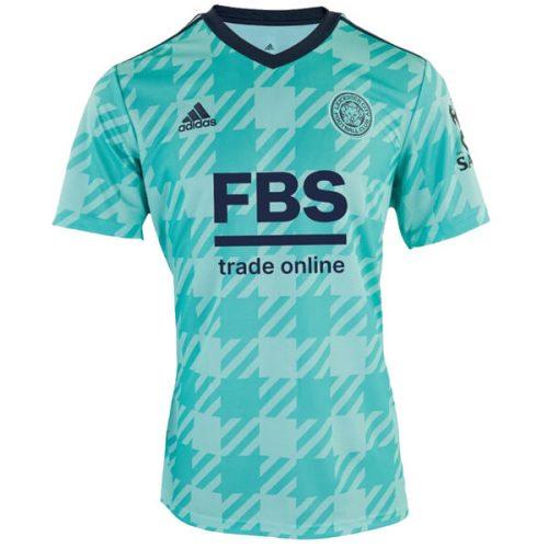 Leicester City Away Football Shirt 21 22