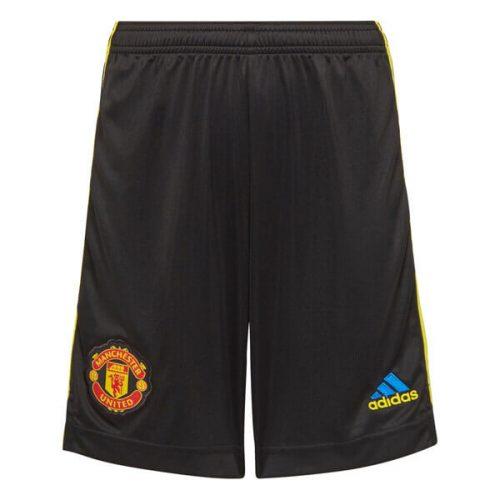 Manchester United Third Football Shorts 21 22