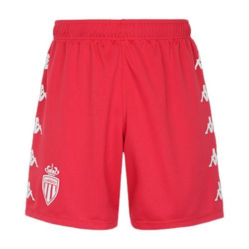 Monaco Home Football Shorts 21 22