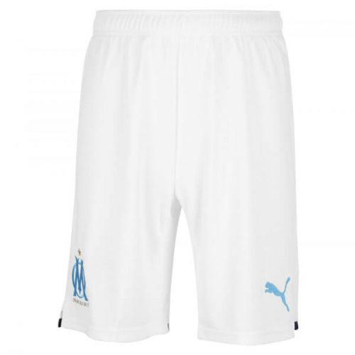 Olympique Marseille Home Football Shorts 21 22