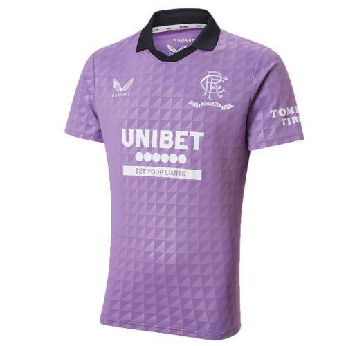 Rangers Third Football Shirt 21 22