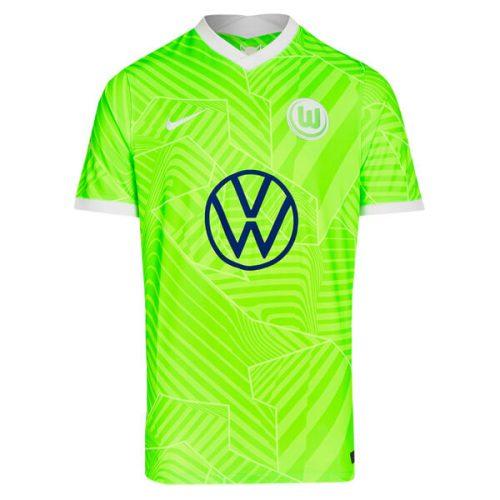 VFL Wolfsburg Home Football Shirt 21 22