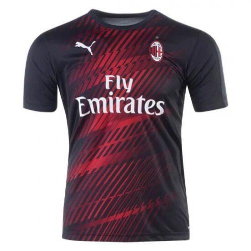 AC Milan Pre Match Training Football Shirt