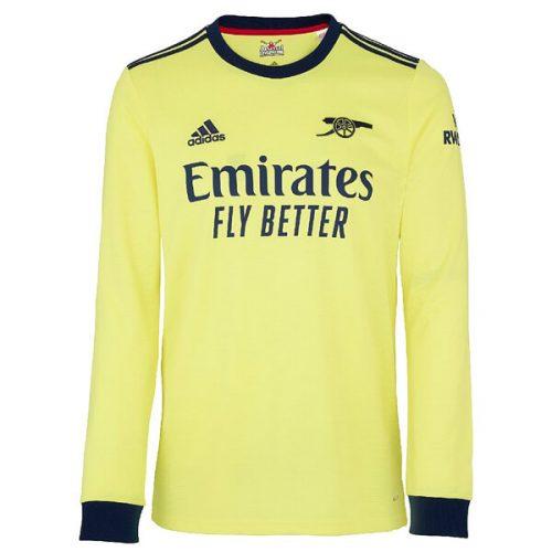 Arsenal Away Long Sleeve Football Shirt 21 22