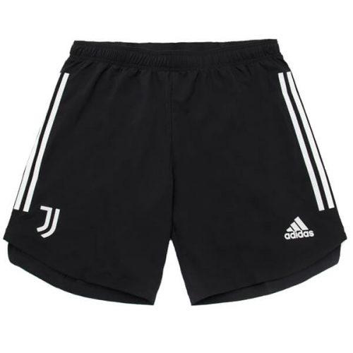 Juventus Home Football Shorts 21 22 - Black