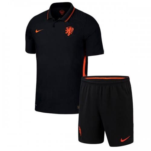 Netherlands Away Kids Football Kit 2020