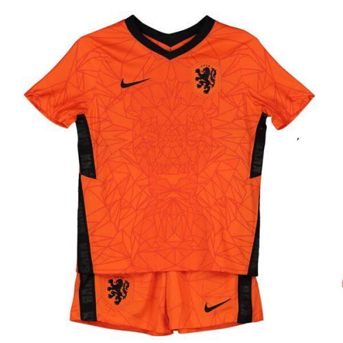 Netherlands Home Kids Football Kit 20 21