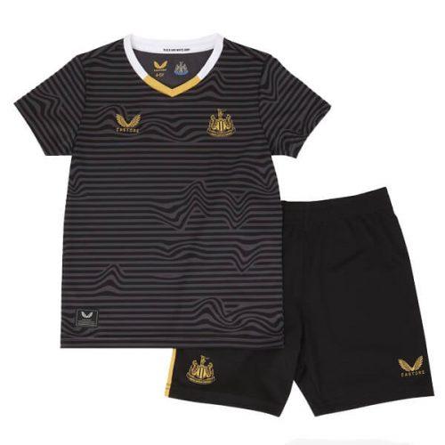 Newcastle United Away Kids Football Kit 21 22