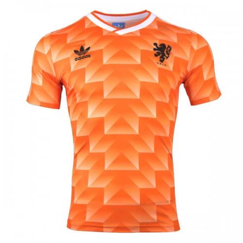 Retro Netherlands Home Football Shirt 1988