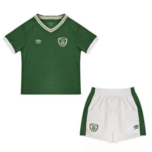 Ireland Home Kids Football Kit 2021