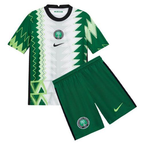 Nigeria Home Kids Football Kit 20 21