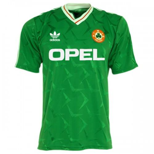 Retro Ireland Home Football Shirt 1990